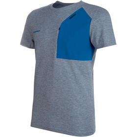 Mammut Crashiano Pocket T-Shirt Herre Wing Teal Melange-Sapphire